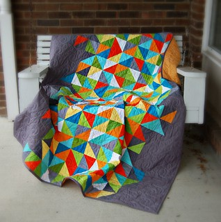 Healing Quilt Porch Swing | by Sarah.WV