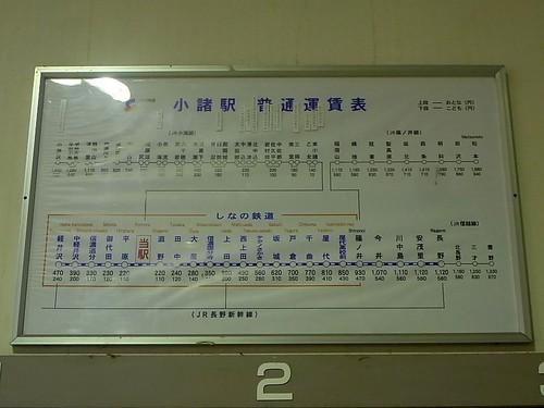 Shinano Railway Komoro Station | by Kzaral