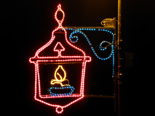 Balaruc-le-Vieux (34), illuminations 2010   by EclairagePublic.eu