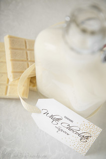 Homemade White Chocolate Liqueur   Will Cook For Friends   by WillCookForFriends
