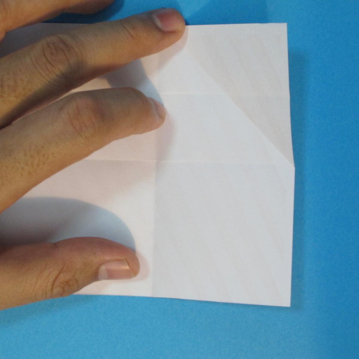 วิธีพับกล่องกระดาษรูปหัวใจส่วนฐานกล่อง 011