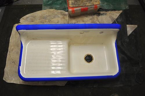 2012-01-21 Bathroom sink strip and prep 01 | by ericdodds
