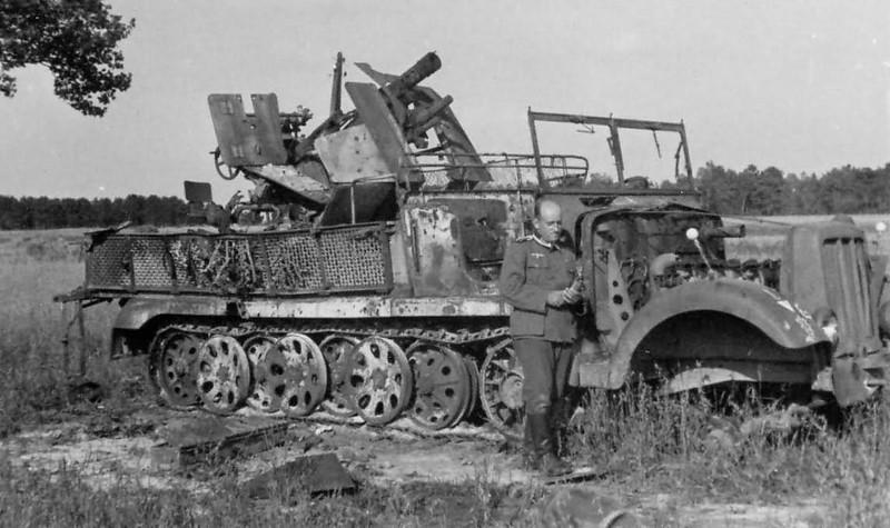 Sdkfz 6/2 + 37mm Flak 37