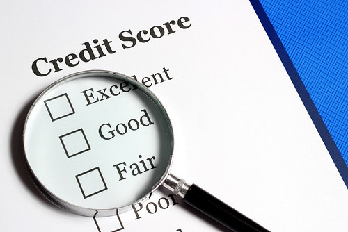 Credit Score - Magnifying Glass | by cafecredit