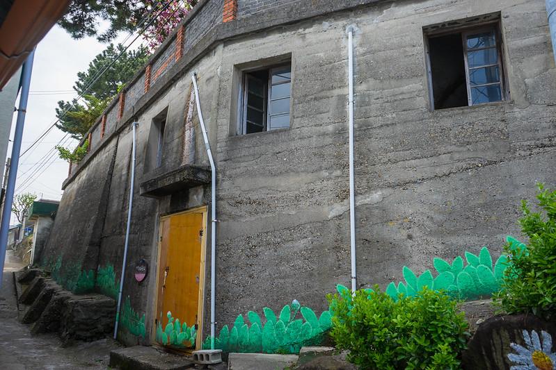 Colonial concrete warehouse, Gampo, South Korea