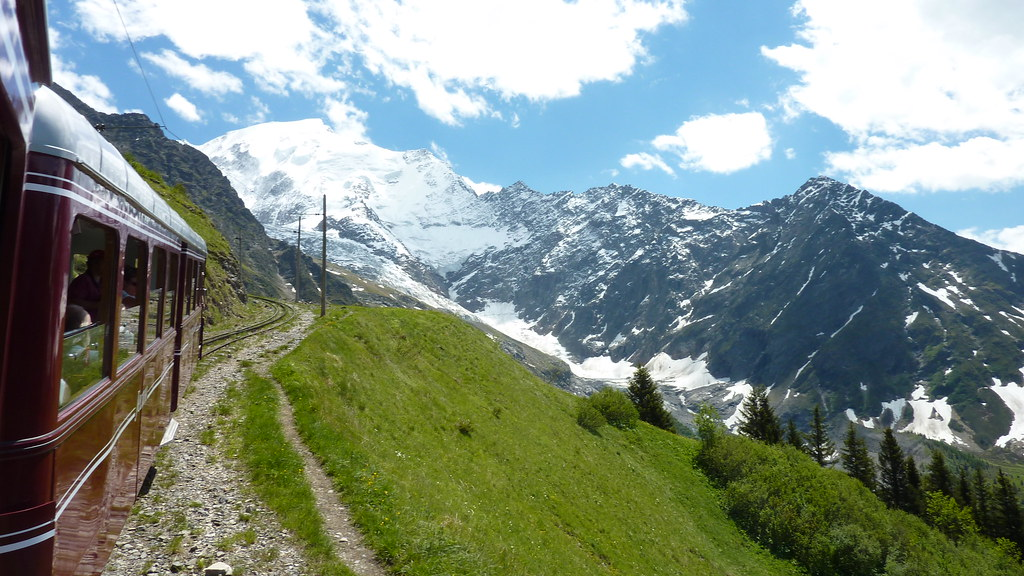 Glacier de Bionassay, not far from Chamonix