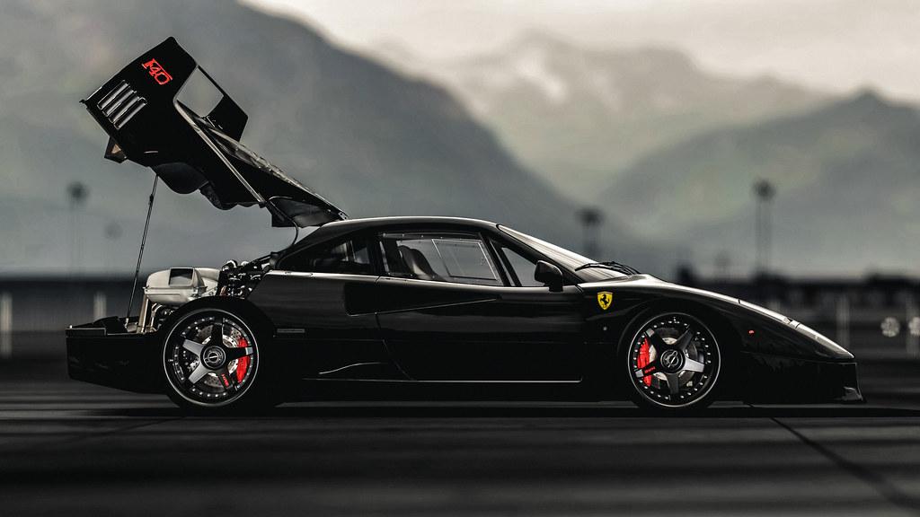 Gas Monkey Garage Ferrari F40 Fast N Loud Gran Turismo 5 Nicolas Flickr