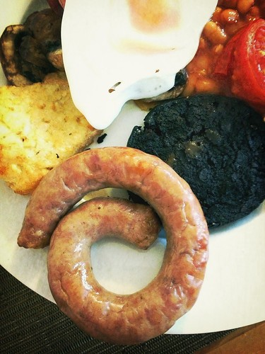 Cumberland sausage and black pudding | by Darcy Moore