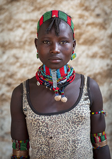 Hamer Teenager, Dimeka, Omo Valley, Ethiopia | by Eric Lafforgue