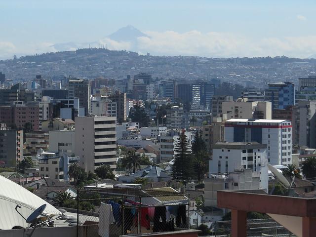 Quito from Casa Bambu