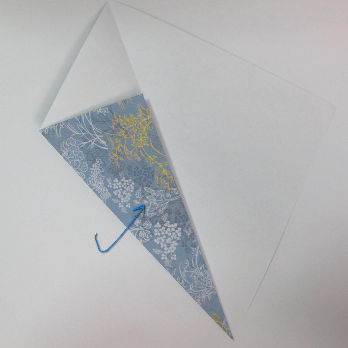 วิธีการพับกระดาษเป็นรูปม้า (Origami Horse) 003