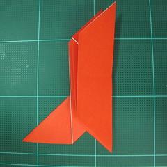 การพับกระดาษเป็นนกพิราบ (Origami pigeon) 00020