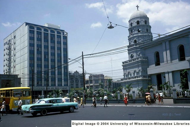 Santa Cruz Church, Manila, Philippines, late 1950s or 1960s