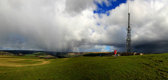 Spring Showers over Wharmton