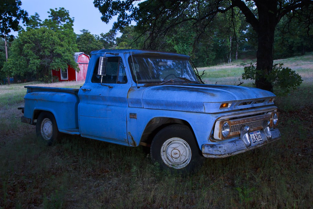 Retired Workhorse | This old Chevy has done its job and can … | Flickr