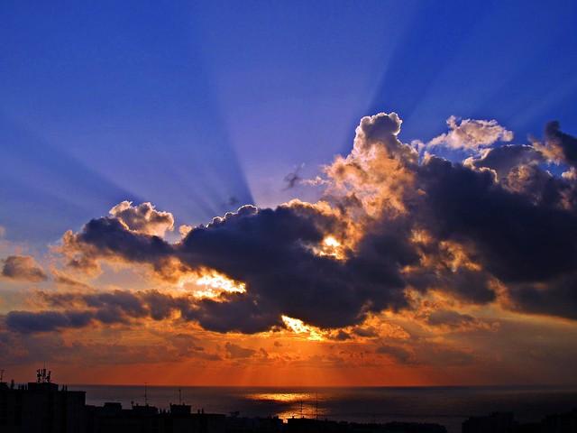 Nubes del amanecer