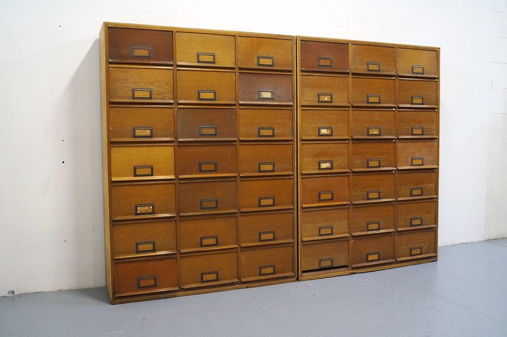 Design Jaren 30.Industriele Kleppenkast Jaren 30 40 Notariskast Fabriekska Flickr