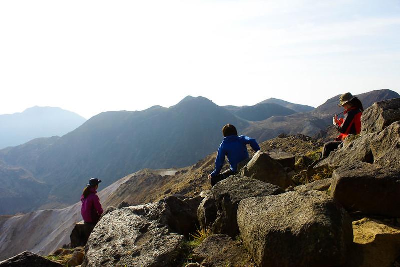 九重山の集合写真