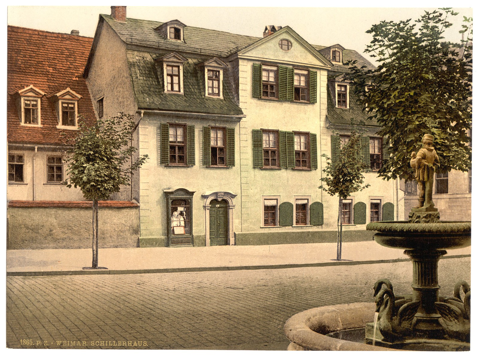 Schiller's House, Weimar, Thuringia, Germany-LCCN2002720788