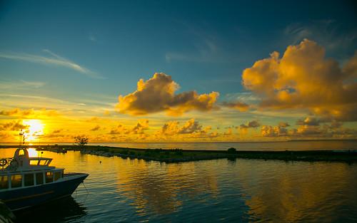 sunset sun beach isle coucherdesoleil dreamscape guadeloupe