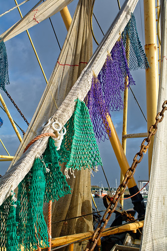 Drying The Colored Nets