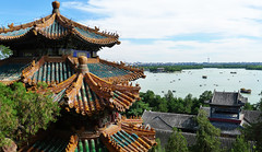 Summer palace during summer