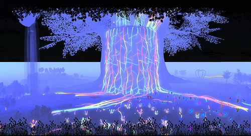 Linden Tree DJ Stage at SL13B | by zuza ritt