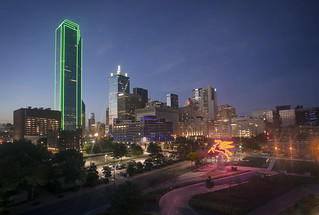 Dallas Skyline from the Omni Downtown | by Katie Haugland Bowen