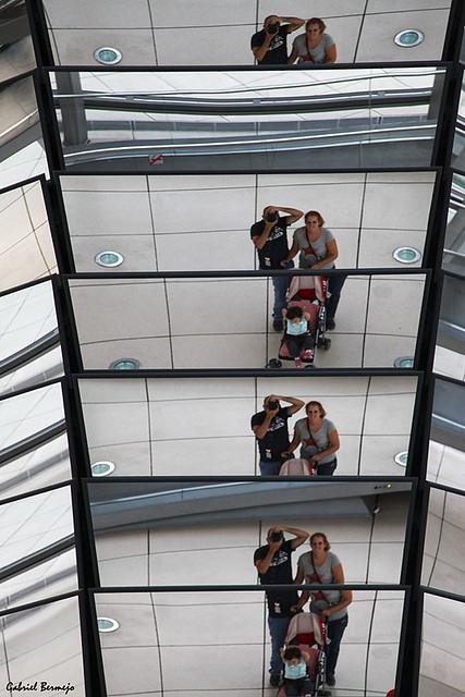Reflejos y autoretratos familiares - Berlín
