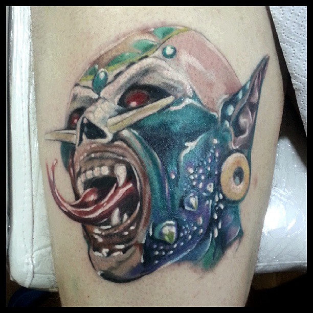 In progress. El Brujo #tattoo #insanetattoostudio #graffyc… | Flickr