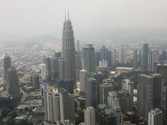 Stadtblick - Kuala Lumpur