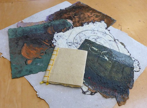 Sally Duback - Winter Papermaking