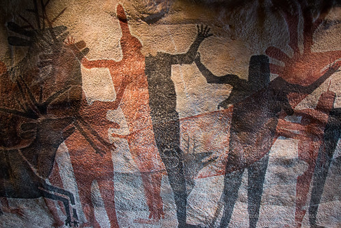 Cave Painting at the National Museum of Anthropology, Mexico City | by Artotem