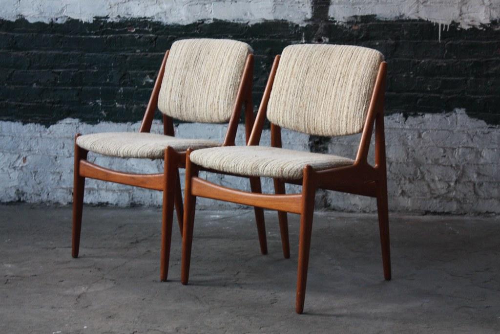Magnificent Absolute Arne Vodder Danish Mid Century Modern Swivel Back Inzonedesignstudio Interior Chair Design Inzonedesignstudiocom
