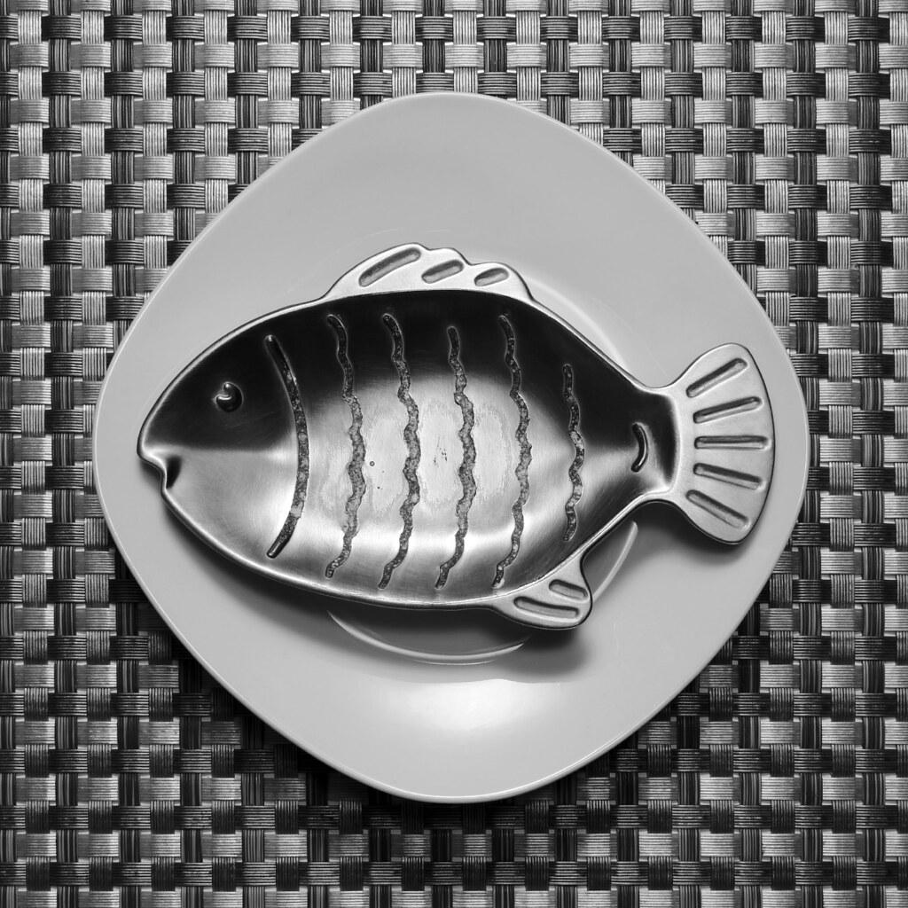 Pescado en plato