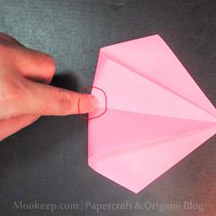 สอนวิธีการพับกระดาษเป็นรูปเป็ด (Origami Duck) - 007.jpg