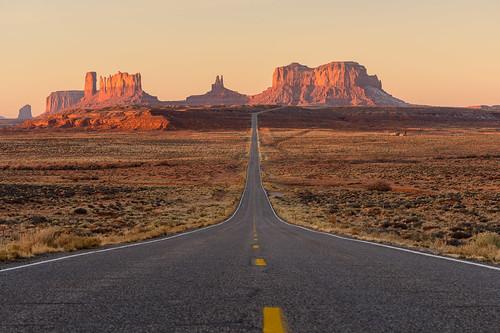 sunset arizona usa utah clear navajo monumentvalley kayenta bluff usroute163