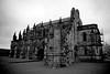 Rosslyn Castle 2014 IR (11) B&W by Steve Brown