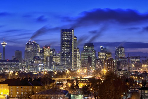 longexposure sunset cold calgary skyline night cloudy bluehour plumes 70200f4lis canon6d jpandersenimages
