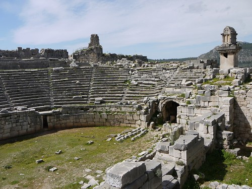 Amphitheatre at Xanthos | by tristanf