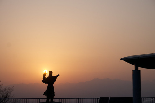 morning japan lumix dawn spring toyama 2014 m43 kureha gx1 呉羽山展望台