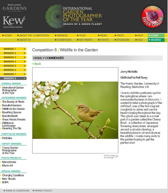 International Garden Photographer of the Year Competition
