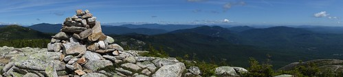 panorama landscape hiking newhampshire whitemountains nationalforest cairn wmnf whitemountainnationalforest southbaldface baldfaces northbaldface baldfacecircletrail