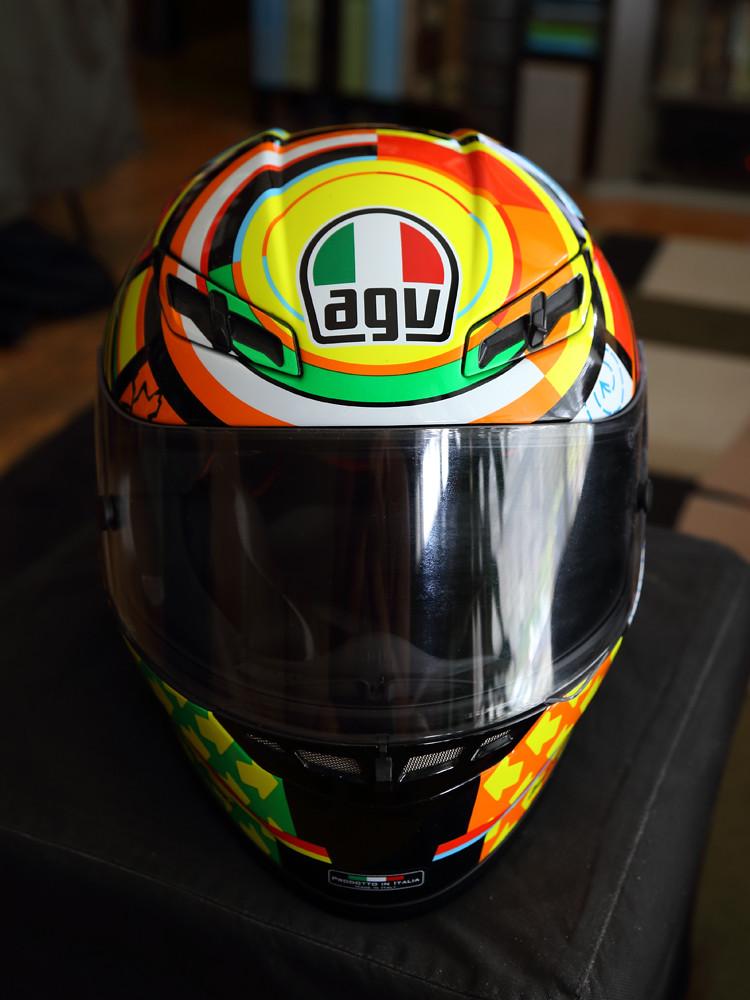 Agv Gp Tech 5 Elements Valentino Rossi Replica Flickr