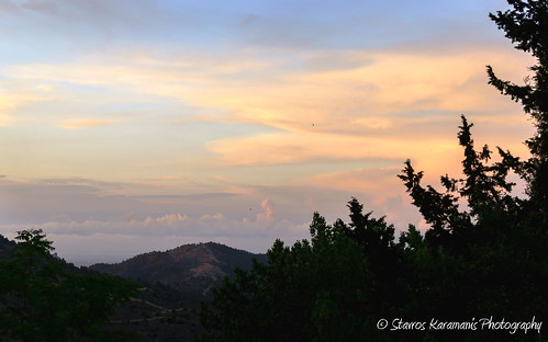 sunset sky cloud mountain tree canon landscape colours outdoor hill ngc cyprus mountainside mountaintop t3i troodos landscapephotography canonphotography canonusers skylovers ef35350mmf3556lusm skydrows