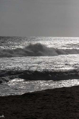beach shangumugam sunset horseride shore colors seascape sea clouds