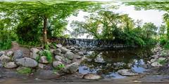 Whitnall Waterfall Panorama