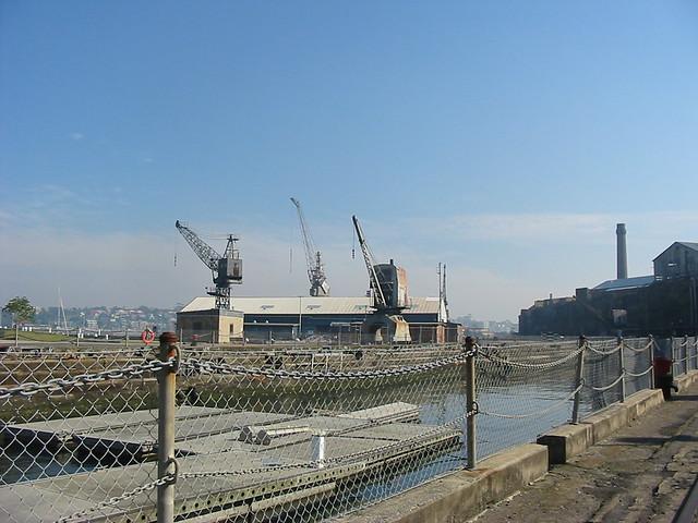 Cockatoo Island, Sutherland Dry Dock and Cranes.