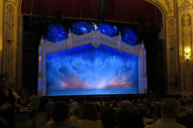 Orpheum Theater stage
