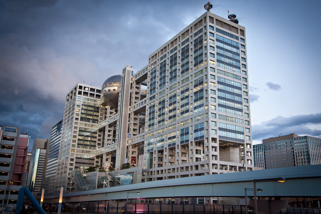 Fuji Television Building | This is the Fuji Television studi